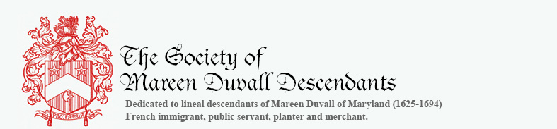 The Society of Mareen Duvall Descendants